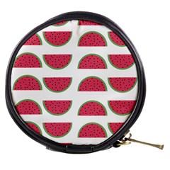Watermelon Pattern Mini Makeup Bags by Nexatart