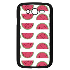 Watermelon Pattern Samsung Galaxy Grand Duos I9082 Case (black) by Nexatart