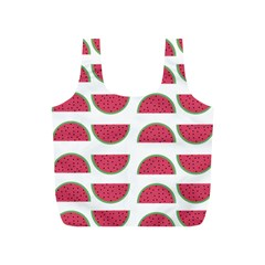 Watermelon Pattern Full Print Recycle Bags (s)  by Nexatart