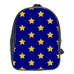 Star Pattern School Bags (xl)  by Nexatart