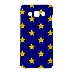 Star Pattern Samsung Galaxy A5 Hardshell Case  by Nexatart