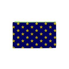 Star Pattern Cosmetic Bag (xs) by Nexatart