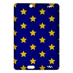 Star Pattern Amazon Kindle Fire Hd (2013) Hardshell Case by Nexatart