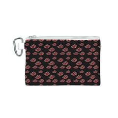 Cloud Red Brown Canvas Cosmetic Bag (s) by Mariart