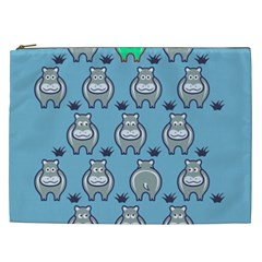 Funny Cow Pattern Cosmetic Bag (xxl)  by Nexatart