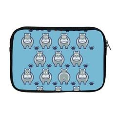 Funny Cow Pattern Apple Macbook Pro 17  Zipper Case