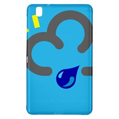 Light Rain Shower Cloud Sun Yellow Blue Sky Samsung Galaxy Tab Pro 8 4 Hardshell Case by Mariart