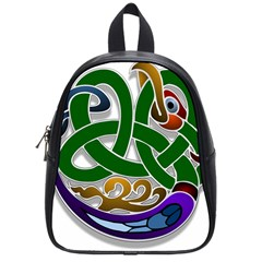 Celtic Ornament School Bags (small)  by Nexatart