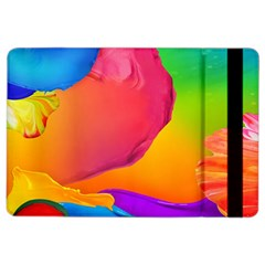 Paint Rainbow Color Blue Red Green Blue Purple Ipad Air 2 Flip by Mariart