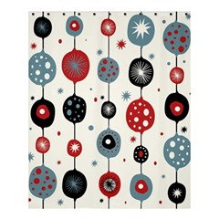 Retro Ornament Pattern Shower Curtain 60  X 72  (medium)  by Nexatart