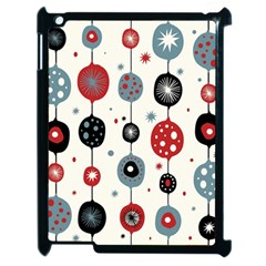 Retro Ornament Pattern Apple Ipad 2 Case (black) by Nexatart