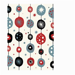 Retro Ornament Pattern Large Garden Flag (two Sides) by Nexatart