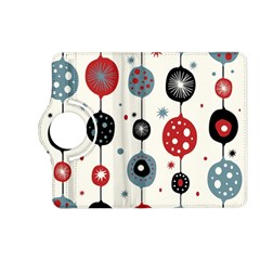 Retro Ornament Pattern Kindle Fire Hd (2013) Flip 360 Case by Nexatart