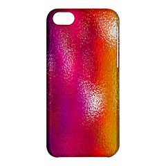 Color Glass Rainbow Green Yellow Gold Pink Purple Red Blue Apple Iphone 5c Hardshell Case by Mariart