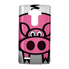 Pork Pig Pink Animals Lg G4 Hardshell Case by Mariart