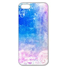 Horoscope Compatibility Love Romance Star Signs Zodiac Apple Seamless Iphone 5 Case (clear) by Mariart