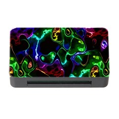 Saga Colors Rainbow Stone Blue Green Red Purple Space Memory Card Reader With Cf by Mariart