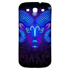 Sign Aries Zodiac Samsung Galaxy S3 S Iii Classic Hardshell Back Case by Mariart