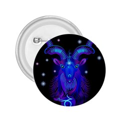 Sign Capricorn Zodiac 2 25  Buttons by Mariart