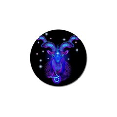Sign Capricorn Zodiac Golf Ball Marker (10 Pack) by Mariart
