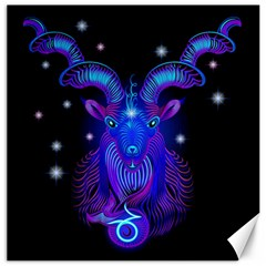 Sign Capricorn Zodiac Canvas 16  X 16   by Mariart