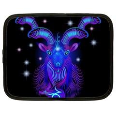 Sign Capricorn Zodiac Netbook Case (xxl)  by Mariart