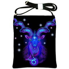 Sign Capricorn Zodiac Shoulder Sling Bags by Mariart