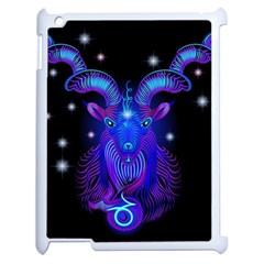 Sign Capricorn Zodiac Apple Ipad 2 Case (white) by Mariart