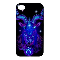 Sign Capricorn Zodiac Apple Iphone 4/4s Premium Hardshell Case by Mariart