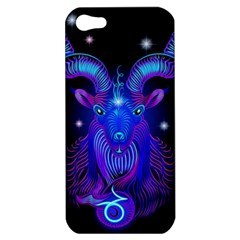 Sign Capricorn Zodiac Apple Iphone 5 Hardshell Case by Mariart