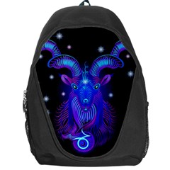 Sign Capricorn Zodiac Backpack Bag by Mariart