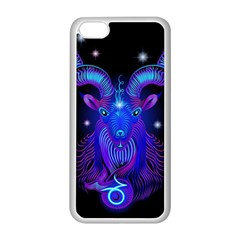 Sign Capricorn Zodiac Apple Iphone 5c Seamless Case (white) by Mariart