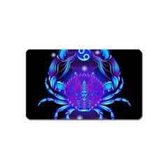 Sign Cancer Zodiac Magnet (name Card) by Mariart