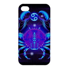 Sign Cancer Zodiac Apple Iphone 4/4s Hardshell Case by Mariart
