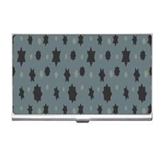 Star Space Black Grey Blue Sky Business Card Holders by Mariart