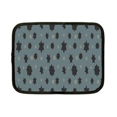 Star Space Black Grey Blue Sky Netbook Case (small)  by Mariart