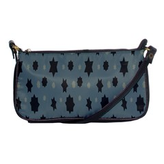 Star Space Black Grey Blue Sky Shoulder Clutch Bags by Mariart