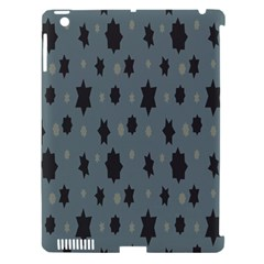Star Space Black Grey Blue Sky Apple Ipad 3/4 Hardshell Case (compatible With Smart Cover) by Mariart