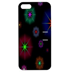 Star Space Galaxy Rainboiw Circle Wave Chevron Apple Iphone 5 Hardshell Case With Stand by Mariart