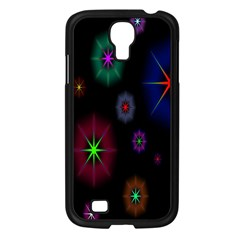 Star Space Galaxy Rainboiw Circle Wave Chevron Samsung Galaxy S4 I9500/ I9505 Case (black) by Mariart