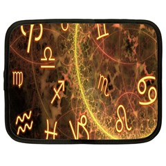 Romance Zodiac Star Space Netbook Case (large) by Mariart