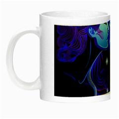 Sign Gemini Zodiac Night Luminous Mugs by Mariart