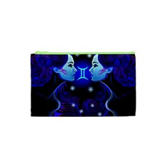 Sign Gemini Zodiac Cosmetic Bag (xs) by Mariart