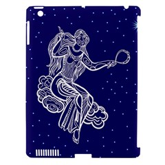 Virgo Zodiac Star Apple Ipad 3/4 Hardshell Case (compatible With Smart Cover) by Mariart