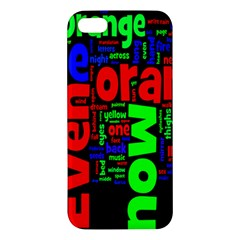 Writing Color Rainbow Iphone 5s/ Se Premium Hardshell Case by Mariart