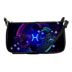 Sign Pisces Zodiac Shoulder Clutch Bags by Mariart
