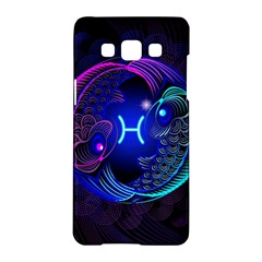 Sign Pisces Zodiac Samsung Galaxy A5 Hardshell Case  by Mariart