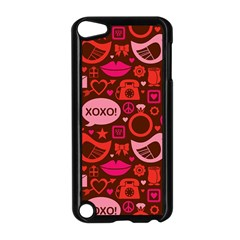 Xoxo! Apple Ipod Touch 5 Case (black) by Nexatart