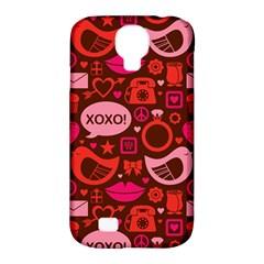 Xoxo! Samsung Galaxy S4 Classic Hardshell Case (pc+silicone) by Nexatart