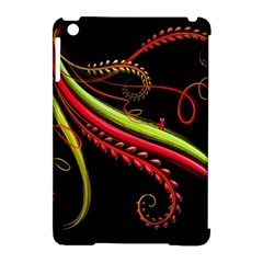 Cool Pattern Designs Apple Ipad Mini Hardshell Case (compatible With Smart Cover) by Nexatart